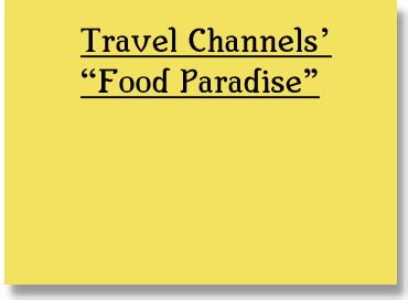 Travel Channels'