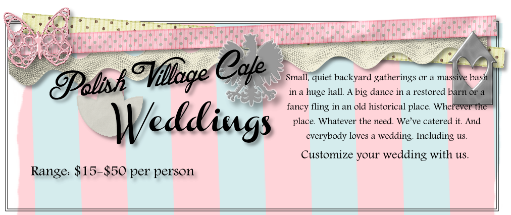 Customize your wedding with us.